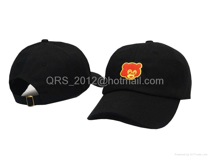 fed4a233bf8 Kanye West Hat Bear College Dropout Embroidered Strapback (China ...