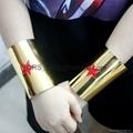 Dc Comics Wonder Woman Star Cuffs- Set Of 2