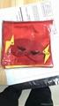 Dress Up Comics Cartoon Superhero Costume with Satin Cape and Matching Felt Mask