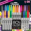 Sharpie Ultra-Fine Point Permanent Markers, 80s Glam