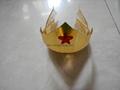 DC Comics Wonder Woman Golden Tiara with Red Gem Star 1