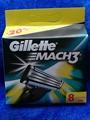 Mach3  Refill Razor Blades, 8 Cartridges