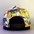 Pokemon Group Gradient Snapback Cap