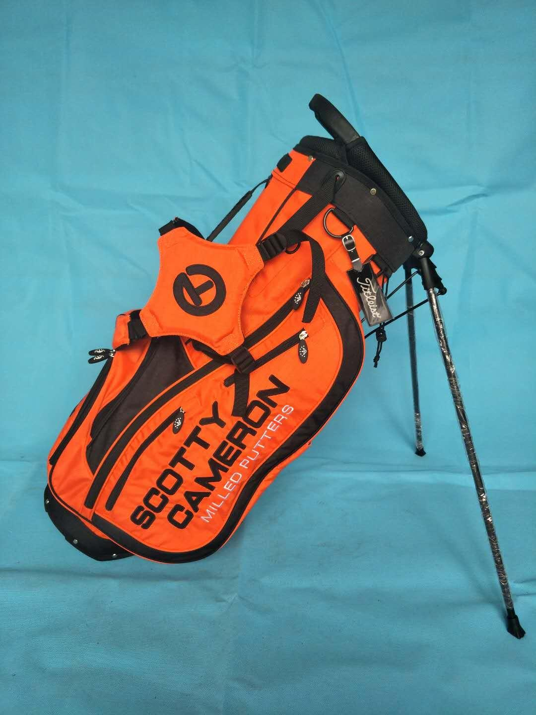 Scotty Cameron Orange Stand Bag Circle T CT Vegas Release