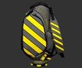Scotty Cameron Staff Bag Caution Stripe Yellow Staff Bag
