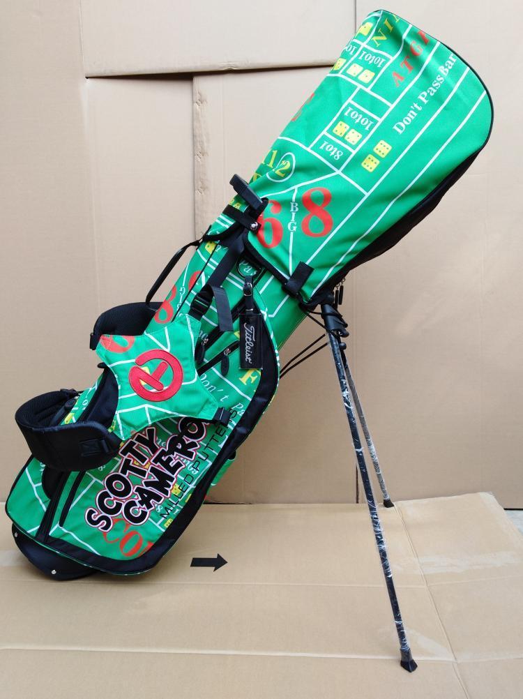 Scotty Cameron Circle T Gambler Green Stand  Bag