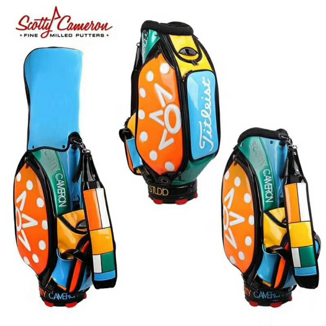 2017 Scotty Cameron Window Pane Cinco de Mayo Staff Bag
