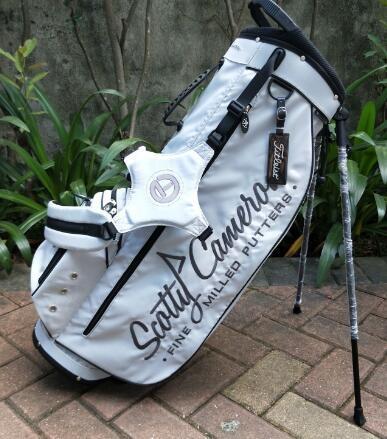 Scotty Cameron Circle T Stand Bag -white