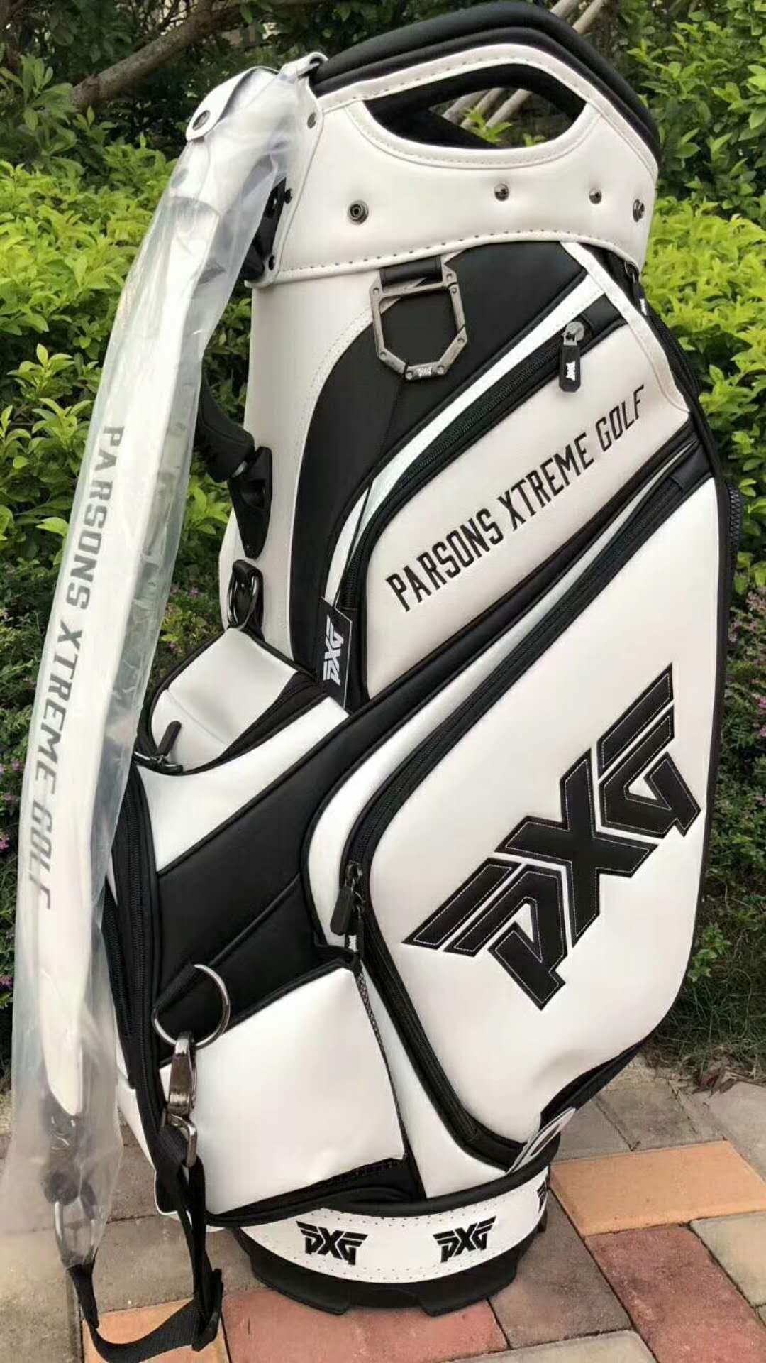 PXG tour golf bag -white