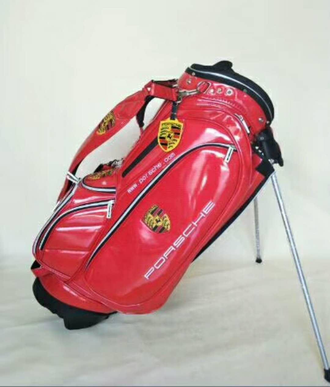 Porsche Golf Cart Bag- Red