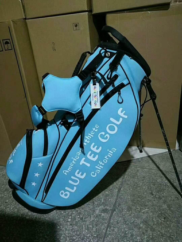 American Athlete Blue Tee Golf California  stang bag -Sky Blue