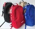 Supreme 18SS 44th Backpack School Bag Black Red Khaki 2018 Box Logo Shoulder Bag