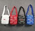 Supreme 3m Reflective Repeat Shoulder Bag Black/Red Box Logo Classic Backpack