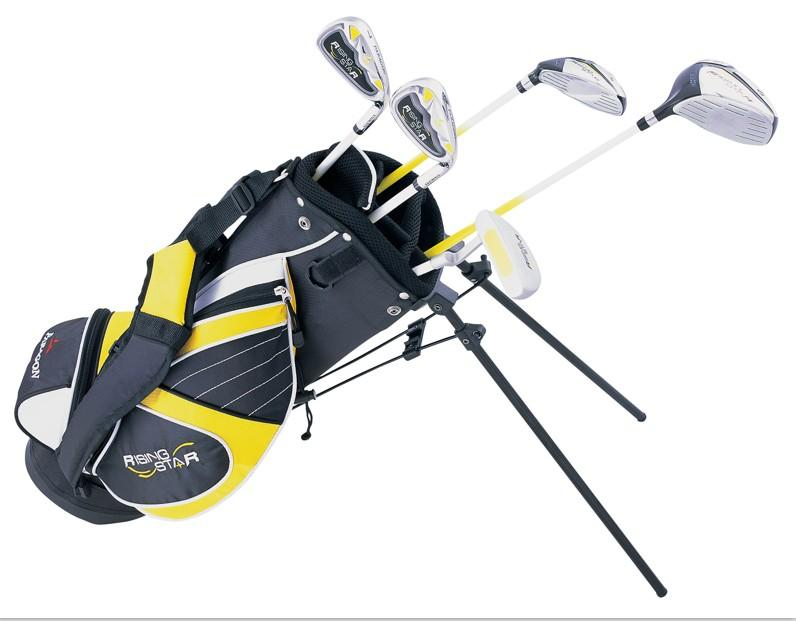 golf junior golf clubs & bag Youth kid carry bag # 5-7 years old -Yellow