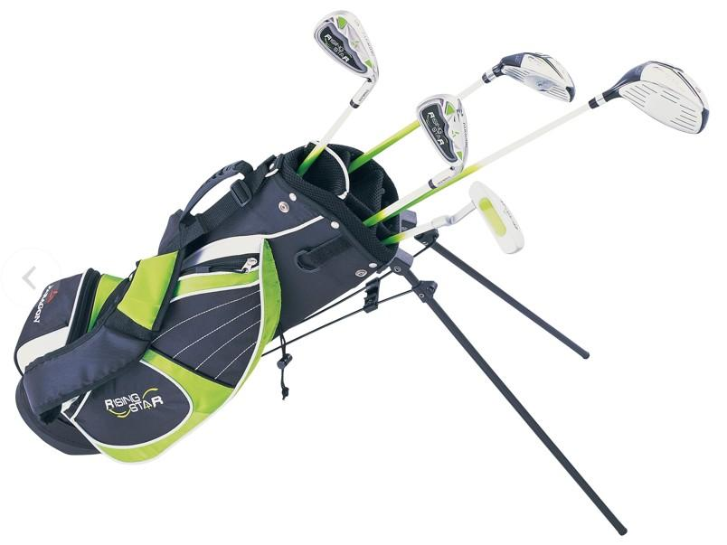 golf junior golf clubs & bag Youth kid carry bag # 8-10 years old (Green)