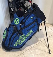 2018 Scotty Cameron Japan M&G Blue Green Dog Wave Circle T Tour Stand Bag