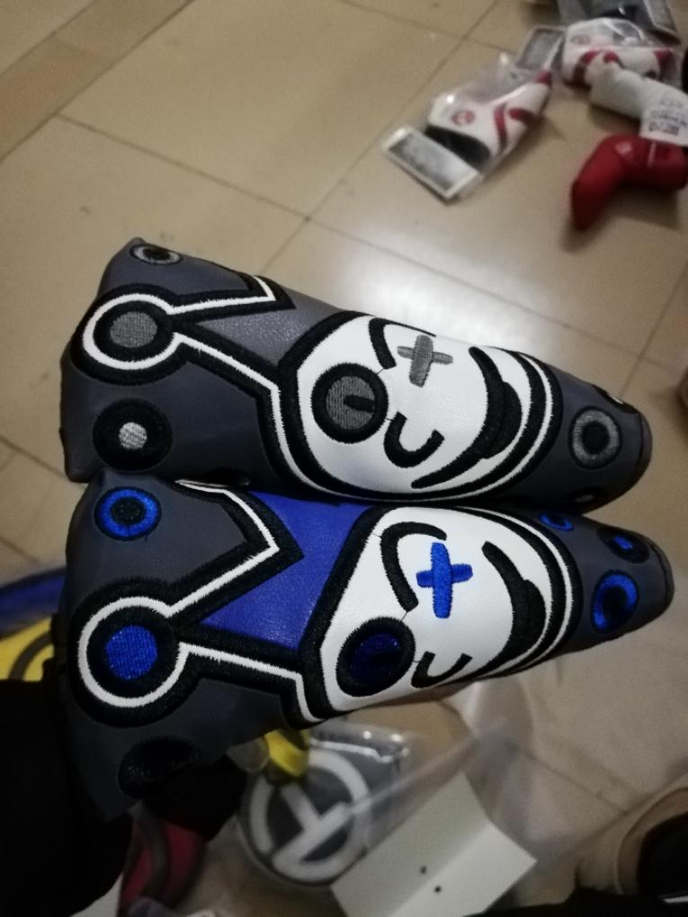 New Scotty Cameron Jackpot Johnny Putter Headcover(Blue,Grey)