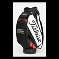 Sccotty Cameron Titleist red black staff golf bag