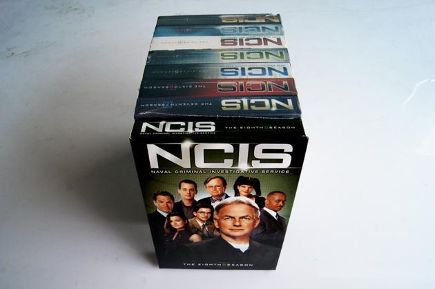 NCIS season 1-8 (48 Disc)