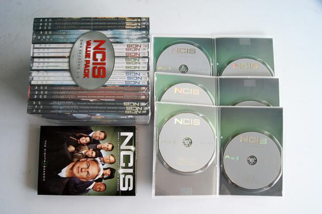 NCIS season 1-8 complete seasons