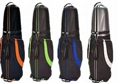 Golf Guard Travel Bag Hard Case Cover Wheeled Carry Standard Luggage Clubs
