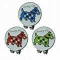 Hunting dog  Magnetic Cap Clip Golfer Gift