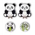 Panda  Magnetic Cap Clip Golfer Gift