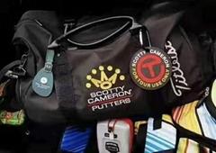 Scotty Cameron Golf Clothing Accessory Shoe Travel Bag Zip Base