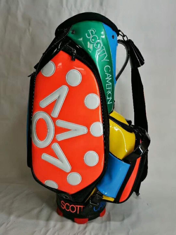 Scotty Cameron 2017 Window Pane Staff Bag Titleist Multi-Color 7 Point Crown