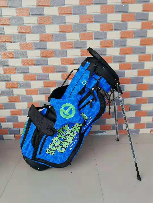 Scotty Cameron Japan M&G Blue Green Dog Wave Circle T Tour Stand Bag