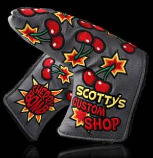 Scotty Cameron Jordan Spieth Cherry Bomb Headcover  Grey  Limited 1/1500 Noob