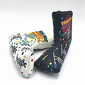 NEW Scotty Cameron Gallery BLACK Peace Painter Surfer Putter Headcover