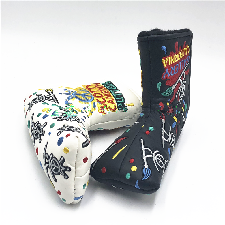 NEW Scotty Cameron Gallery Peace Painter Surfer Putter Headcover