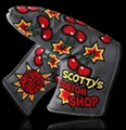 Scotty Cameron Jordan Spieth Cherry Bomb Headcover - Grey - Limited 1/1500 Noob