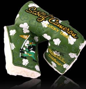 Scotty Cameron 2009 ST. PATRICK'S DAY LUCKY DOG Putter Headcover
