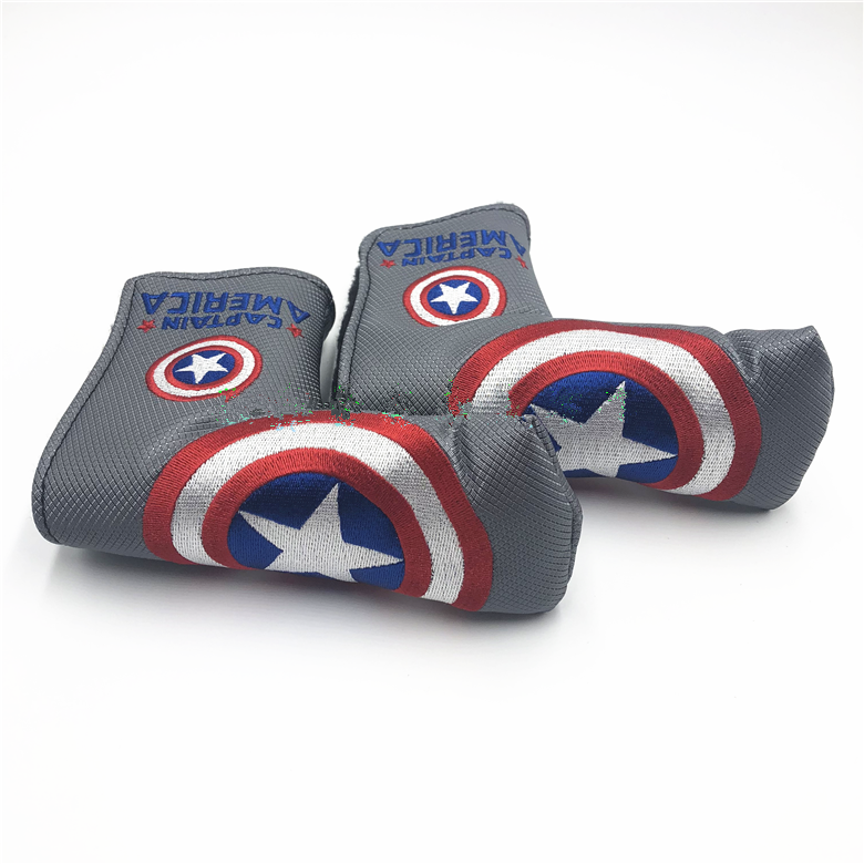 Scotty Cameron Captain America putter headcover