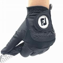 Titleist sheepskin genuine leather golf glove men's left black
