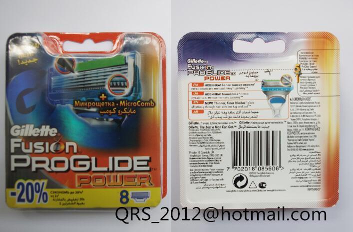 Fusion proglide razor blade refills 8 cartridges
