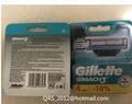 Mach3 razor blade refills 4 cartridges-Russian package
