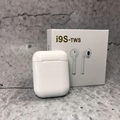 I9s TWS Bluetooth 5.0 Earphone Binaural Wireless Stereo Earbuds - White