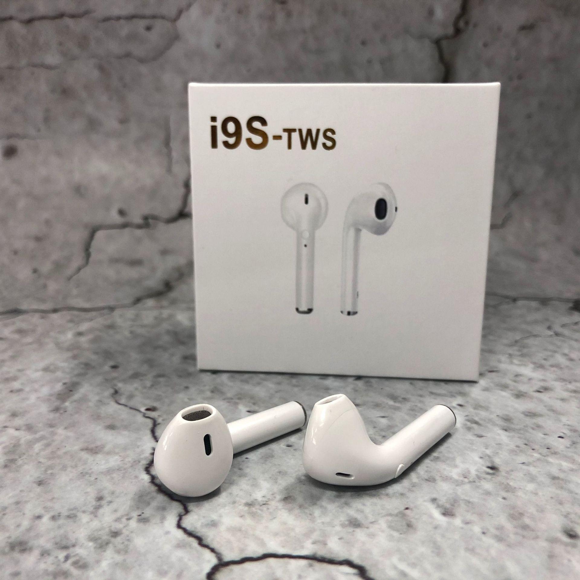 Mini i9s TWS Wireless Headphones BT 5.0 in-Ear Earphones with True Stereo Earbud