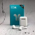 i11-TWS Wireless Bluetooth Stereo Earphones Earbuds Earpods For Mobile Phone