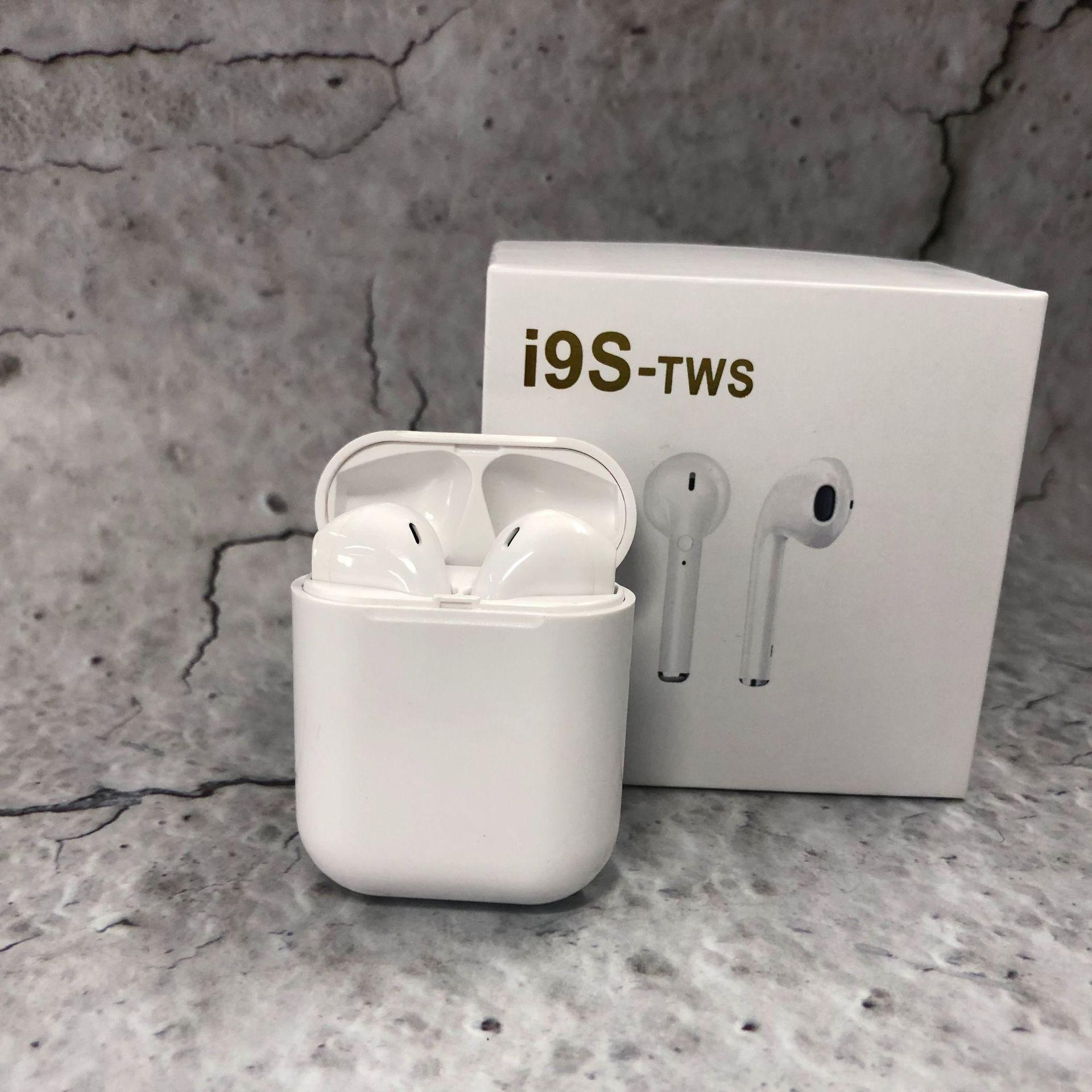 i9S TWS Wireless Bluetooth Earpod Earbud Earphones for iPhone Samsung Sony