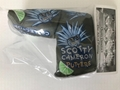 Scotty Cameron tiki agave man putter headcover