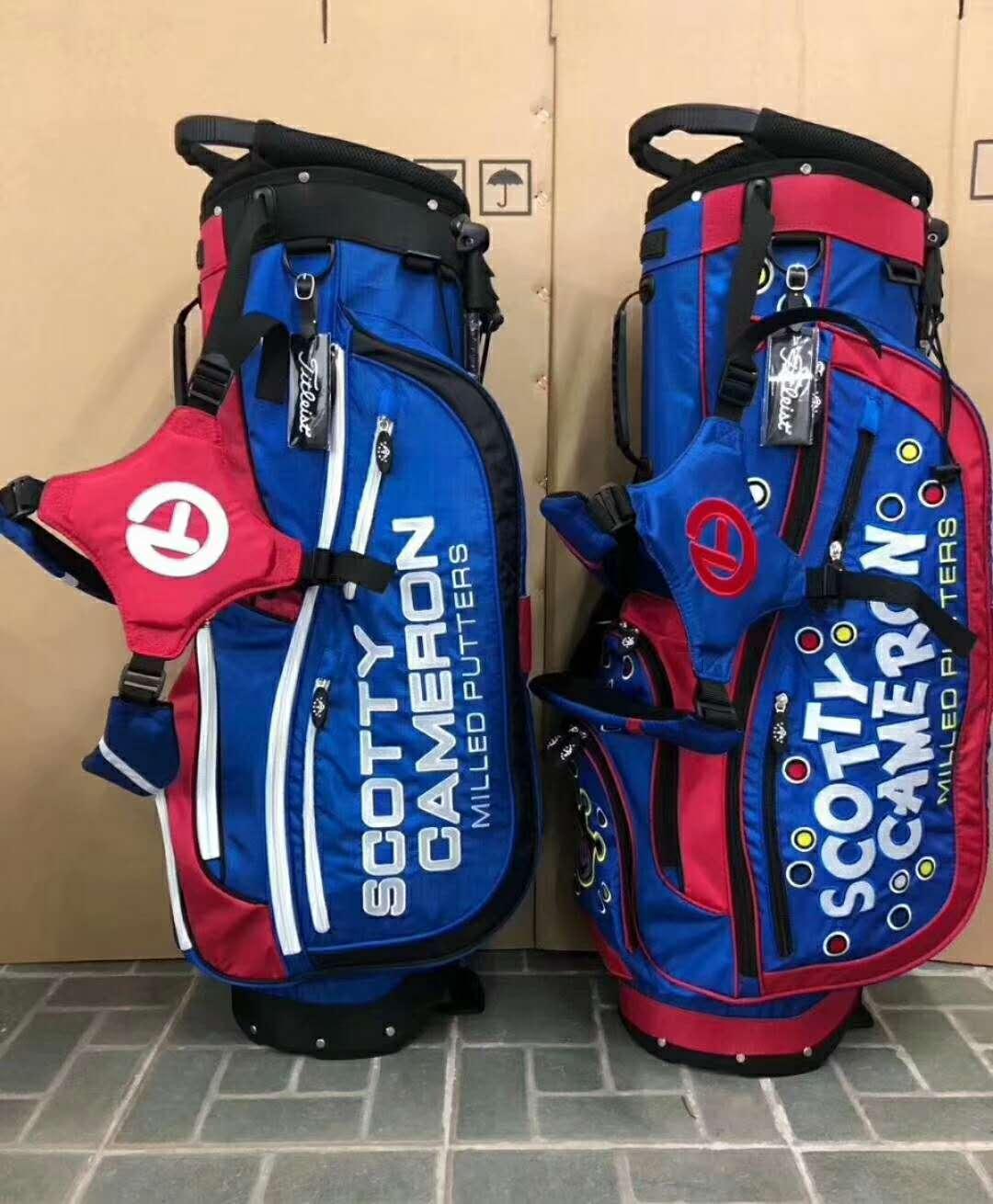 Jackpot Johnny golf bag