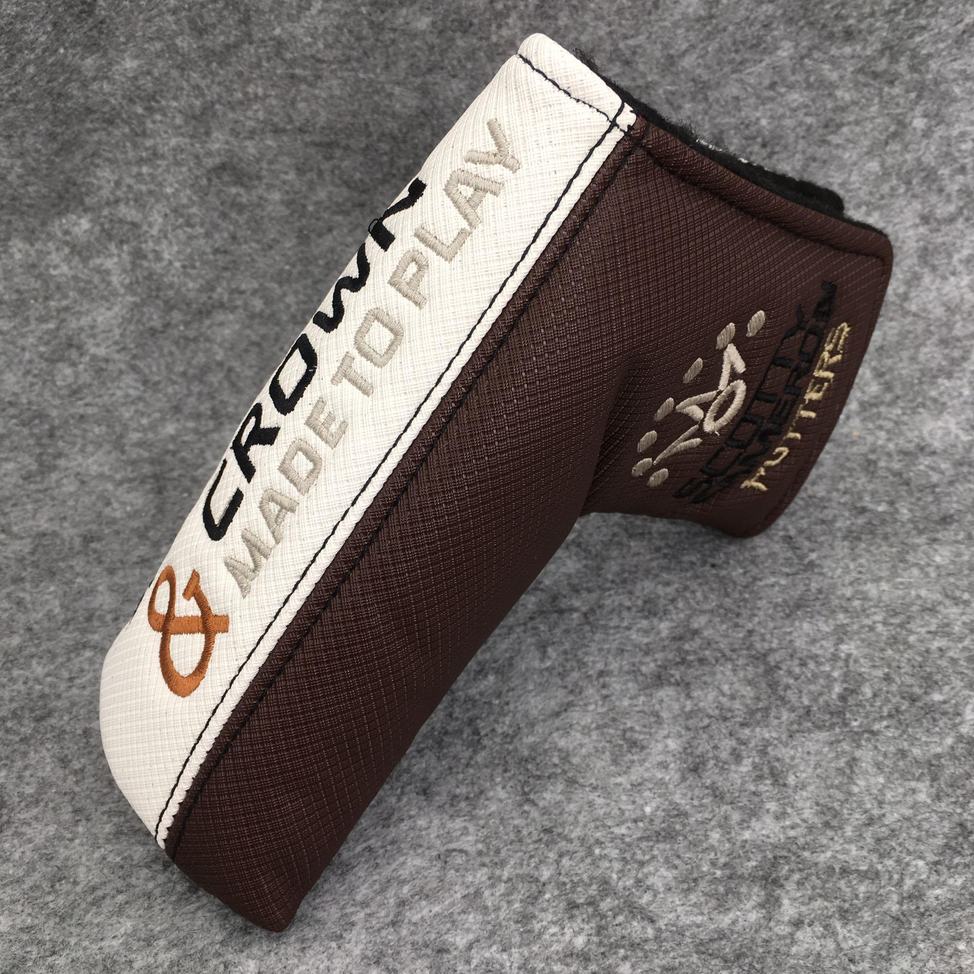 Putter Cover Golf Club Protection Blade Headcover Gift Acces for Scotty Cameron