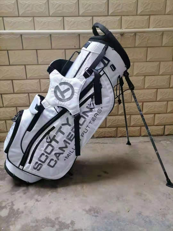 Scotty Cameron genuine limited circle t bracket caddy bag golf white
