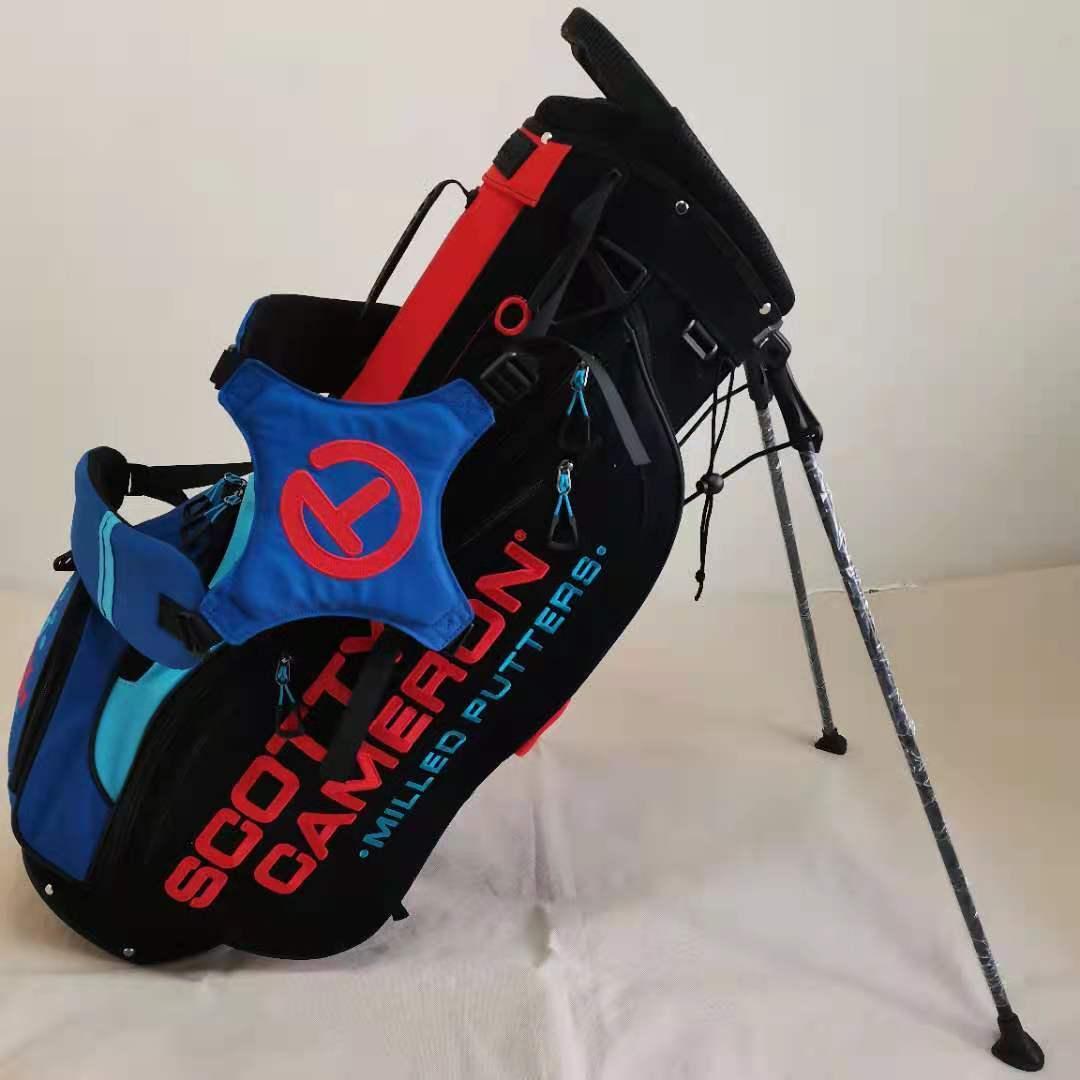 Scotty Cameron genuine limited circle t bracket caddy bag golf red