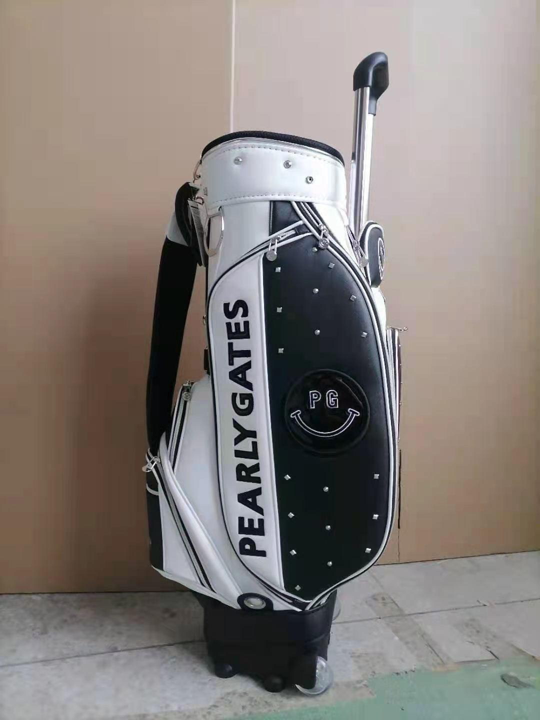 Smile pearly gates caddy package Golg bag