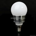 5W RGB LED Bulbs 85-265V Remote Control
